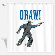 Draw! Shower Curtain
