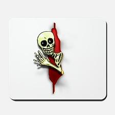 Frightening Skeleton Mousepad