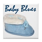 Baby Blues Tile Coaster