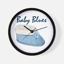 Baby Blues Wall Clock