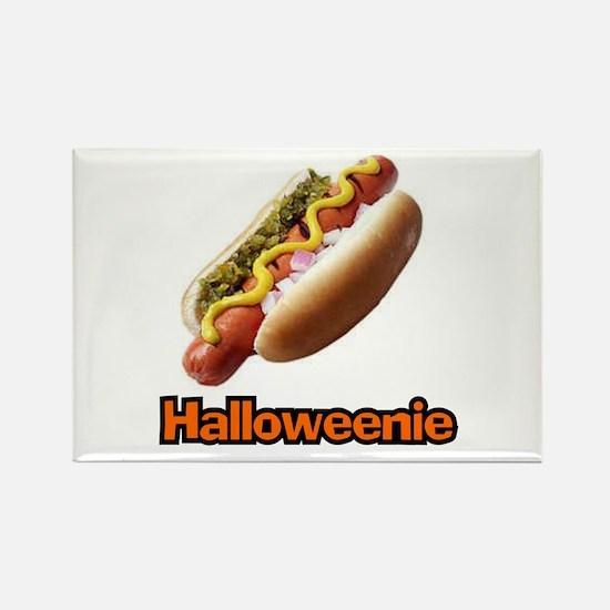 Halloweenie Rectangle Magnet