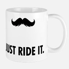Mustache Rides Mug