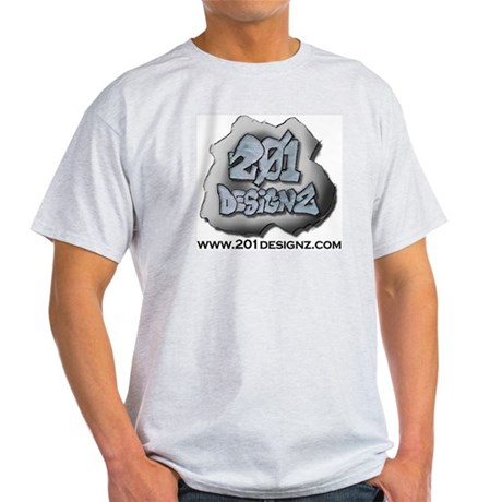 201Designz Gear Ash Grey T-Shirt