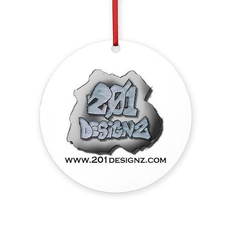 201Designz Gear Ornament (Round)