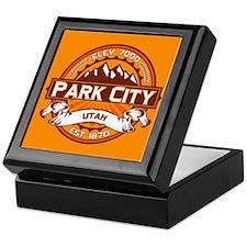 Park City Tangerine Keepsake Box