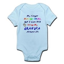 My finger may be small... Grandpa Onesie