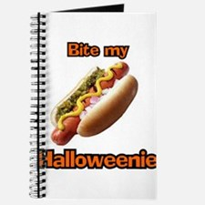 Bite My Halloweenie Journal