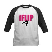 I Flip Tumbling gymnast Baseball Jersey