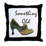 Something Old Throw Pillow