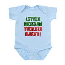 Little Mexican Trouble Maker Body Suit