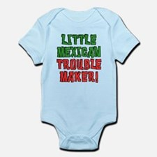 Little Mexican Trouble Maker Body Suit