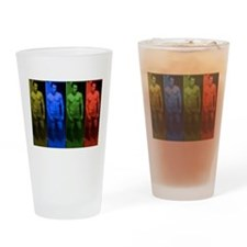 Clark in Color Drinking Glass