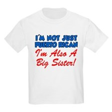 Puerto Rican Big Sister T-Shirt
