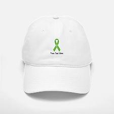 Green Awareness Ribbon Customized Baseball Baseball Cap