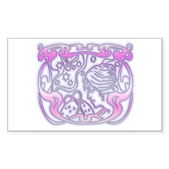Astrologer Rectangle Decal