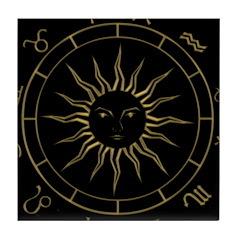 Astrowheel Tile Coaster