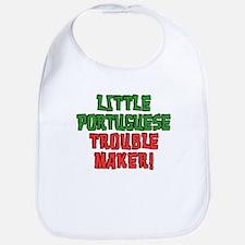 Little Portuguese Trouble Maker Bib