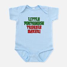 Little Portuguese Trouble Maker Body Suit