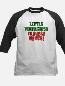 Little Portuguese Trouble Maker Baseball Jersey