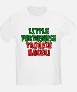 Little Portuguese Trouble Maker T-Shirt