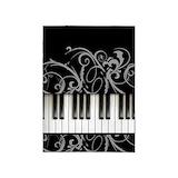Piano keyboard 5x7 Rugs