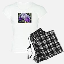 Purple Iris Pajamas