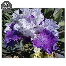 Purple Iris Puzzle