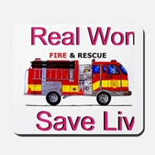 Women Saves Lives Mousepad
