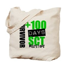 100 Days SCT Survivor Tote Bag