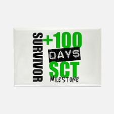 100 Days SCT Survivor Rectangle Magnet