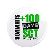 """100 Days SCT Survivor 3.5"""" Button"""