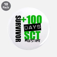 """100 Days SCT Survivor 3.5"""" Button (10 pack)"""