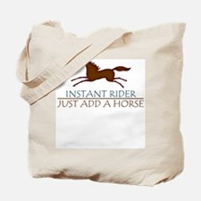 Instant Rider Add A Horse Tote Bag