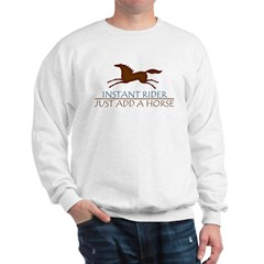 Instant Rider Add A Horse Sweatshirt