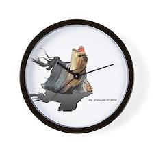 Yorkie HONZA Wall Clock