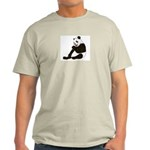 PAND BEAR HOLDING A SUCKER Light T-Shirt