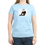 PAND BEAR HOLDING A SUCKER Women's Light T-Shirt