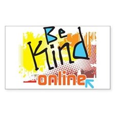 Be Kind Online Decal