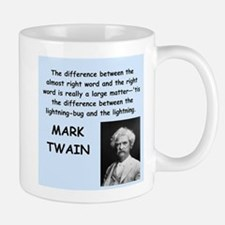 Mark Twain Quote Small Small Mug