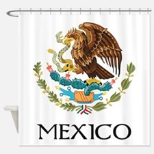 Coat of arms of Mexico Shower Curtain