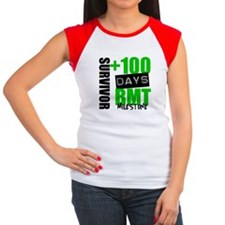 100 Days BMT Survivor Women's Cap Sleeve T-Shirt