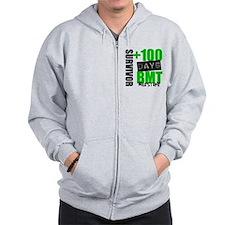 100 Days BMT Survivor Zip Hoodie