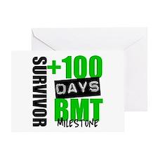 100 Days BMT Survivor Greeting Card