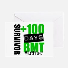 100 Days BMT Survivor Greeting Card