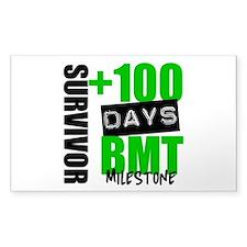 100 Days BMT Survivor Decal