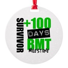 100 Days BMT Survivor Ornament