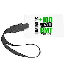 100 Days BMT Survivor Luggage Tag