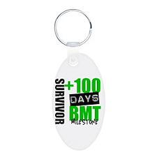 100 Days BMT Survivor Keychains