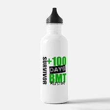 100 Days BMT Survivor Water Bottle