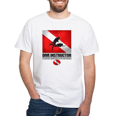Dive Instructor 2 (back)(black) T-Shirt